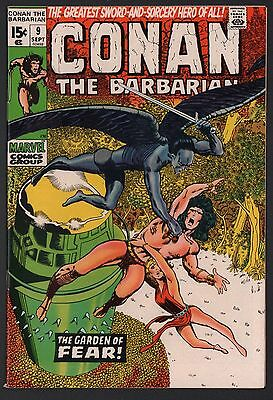 Conan the Barbarian #9 VF/NM 9.0 Off White Pages