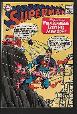 Superman #178 VF 8.0 Off White Pages