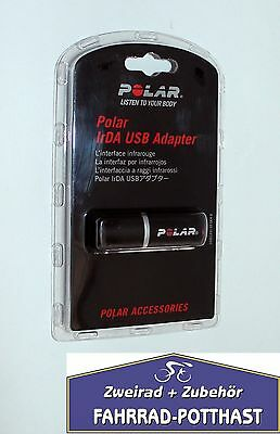 Polar IrDA USB Adapter Black NEW ean-725882293479