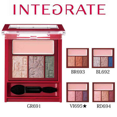 [SHISEIDO INTEGRATE] Accent Color Eyes CC Eyeshadow Palette w/ CC Base 3.3g NEW
