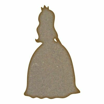 Princess 3 - MDF Laser Cut Craft Blanl