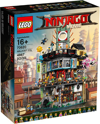 Minifigures The LEGO® Ninjago Movie: NINJAGO City 70620