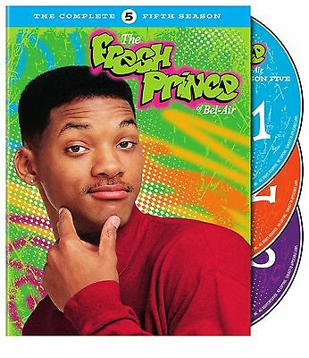 THE FRESH PRINCE OF BEL AIR the complete fifth series 5. Region free. New DVD.
