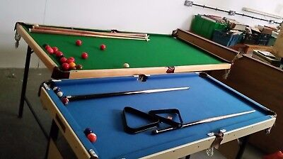 2 X Snooker Or Pool Table