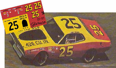 CD/_446 #92 Herb Thomas /'Fabulous Hudson Hornet/'  1:64 Scale DECALS
