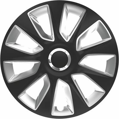 """4X 13"""" Inch Stratos Rc Wheel Trims Cover Hub Caps For Toyota Aygo 14-On"""
