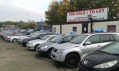 Car Van Sales Pitch upto 50 cars Est 12yearsTO LET or For Sale off Portrack Lane