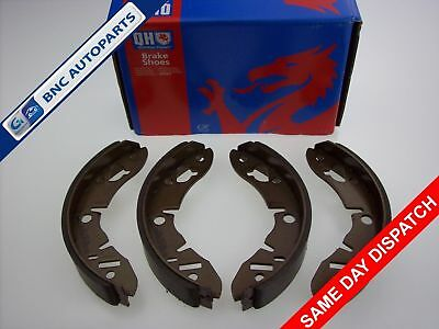 1980 to 1993 Rear Brake Shoes set of 4 for RELIANT ROBIN Quinton Hazell