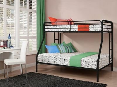 DHP Twin Over Full Metal Bunk Bed