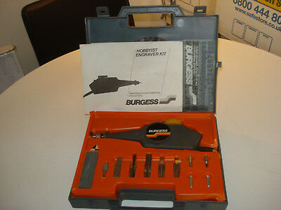 Burgess Hobbyist Model 72 Engraver Kit with 10 accessories