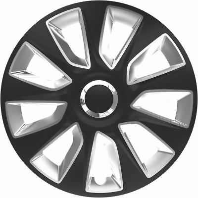 "4X 15"" Inch Stratos Rc Wheel Trims Cover Hub Caps For Skoda Rapid All Models"