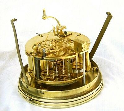 Full oil service for an antique French clock movement