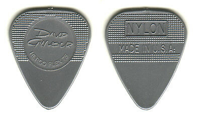 David Gilmour - Pink Floyd - Real Tour Guitar Pick - Rare!