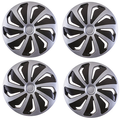 "4X 16"" Inch Stratos Rc Wheel Trims Cover Hub Caps For Vauxhall Vivaro All Models"
