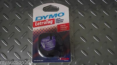 Dymo LetraTag 16952 CLEAR USA Label Refill Tapes Letra Tag PLUS LT-100T