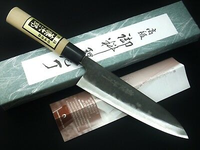 JapanesTojiro SHIROGAMI White Steel Black Finish Chef Knife Gyuto 180,210,240 mm
