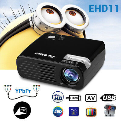 Uhappy H2 5000LM 1080P 3D LED VIDEO Proiettore USB/HDMI/ATV WIFI Android Zoom IT