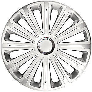 "4X 16"" Inch Trend Rc Wheel Trims Cover Hub Caps For Dacia Sandero Stepway 13-On"