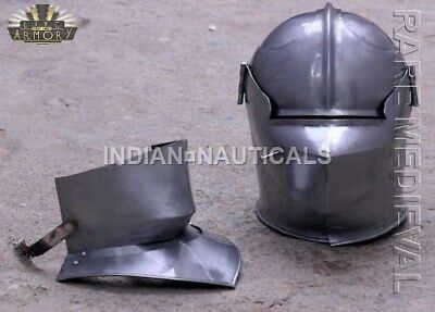 16 GA-Medieval-Knight-Tournament-Close-Armor-Helmet MT736