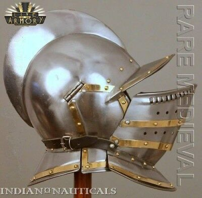 Rare Valsgrade Armor Helmet With Chain Mail Viking Roleplay MT 492