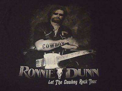 Ronnie Dunn Tour Shirt ( Used Size 2XL ) Nice Condition!!!