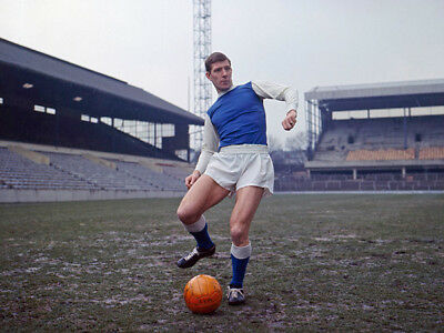 SW-063 : 8x6 PHOTO - SHEFFIELD WEDNESDAY 1966 DON MEGSON