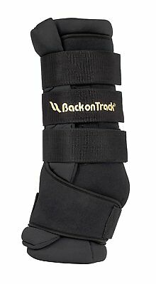 Back On Track Therapeutic Equine Royal Quick Wraps, Pair, Black, Multiple Sizes