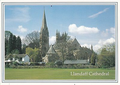 Llandaff Cathedral Colour Postcard