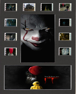 IT 2017 Film Cell Presentation 10 x 8 Mounted 10 cells