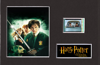 Harry Potter And The Chamber Of Secrets 35mm Mounted Film Cell Display 6 x 4