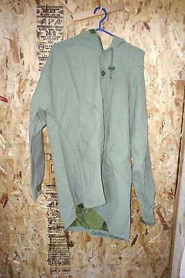 Canadian Military Rain Suits Parka and Pants Tough Rip Stop  lined