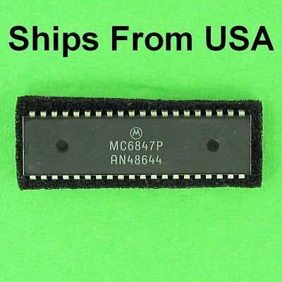 Motorola MC6847P Video Display Generator 40 Pin DIP IC, MC6847 6847  New