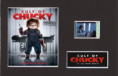 Cult Of Chucky 35mm Mounted Film Cell Display 6 x 4