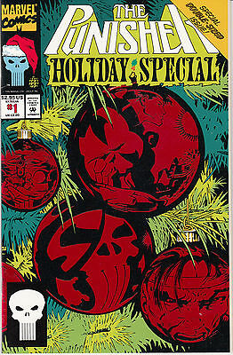 The Punisher Holiday Special #1 (Jan 1993, Marvel)