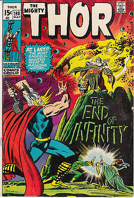 Thor #188 (May 1971, Marvel) The End of Infinity
