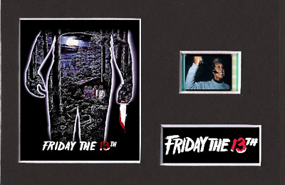 Friday The 13th (1980) 35mm Mounted Film Cell Display 6 x 4