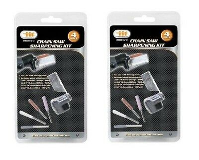 NEW - Chainsaw Sharpening Kit Guide Bar Rotary Tool