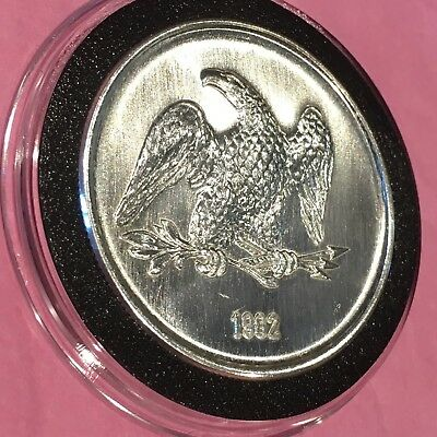 1982 High Relief American Eagle Vintage Coin 1 Troy Oz .999 Fine Silver Ag Round