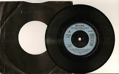 Set Me To Fire by Willie Colon 7 inch 45RPM single 1986 *VG+*