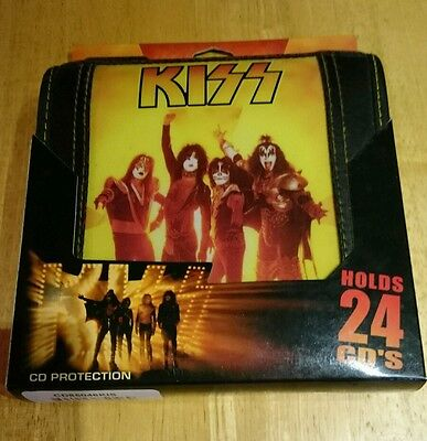 Kiss Army CD Case Holds 24 CD's