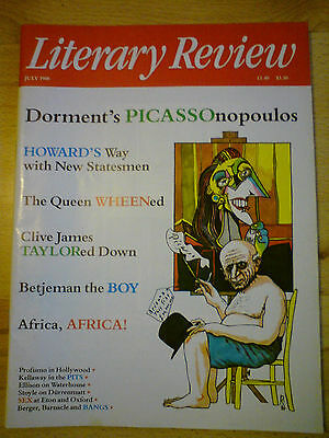 Literary Review July 1988