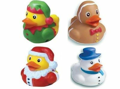 Christmas Themed Novelty Bath Duck