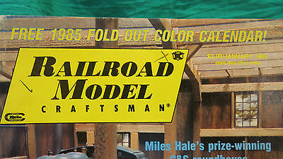 Railroad Model Craftsman from 1985 and 1986 - 13 vintage back issues