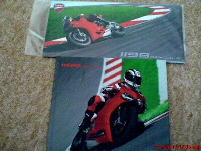 DUCATI PANIGALE hard back + slip case brochure excl cond.,.