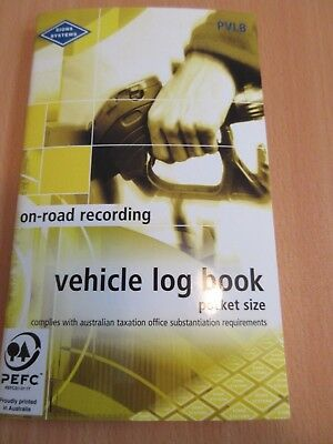 1 x Zions Vehicle Log Book 64P ATO Compliant PVLB free postage