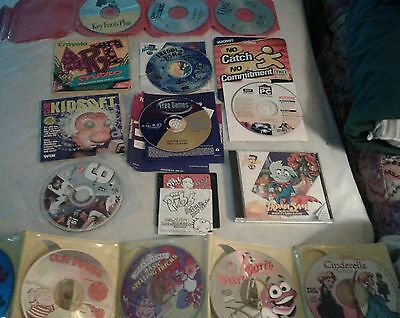 Lot of old computer software CDs games etc. many not used or little
