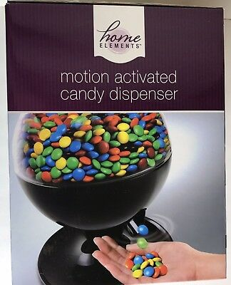 Home Elements Motion Activated Candy Dispenser Party Touchless  Nuts Gumball NEW