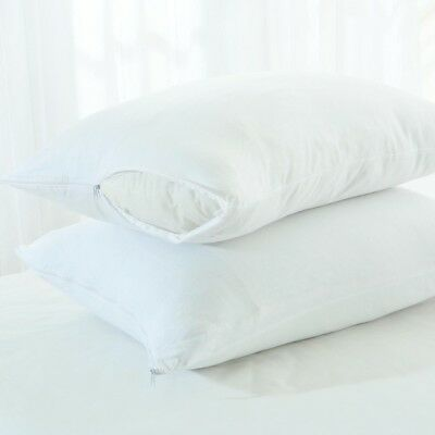 New Two Islands Cotton Jersey Knit Pillow Protectors