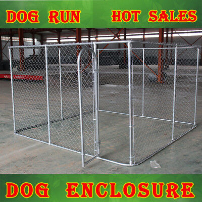 9 Sqm Large Square Kennel Puppy Dog Run Cage Enclosure 3X3X1.8M Outdoor