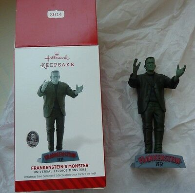 Hallmark Keepsake Ornament Universal Studios Monsters Frankenstein's 2014